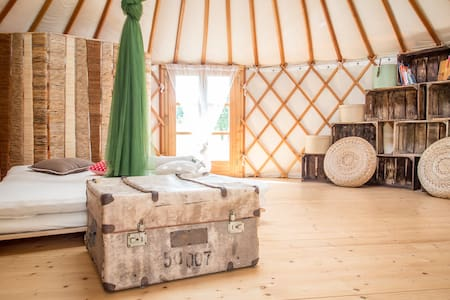Relaxing Holiday in Yurt - Chlum