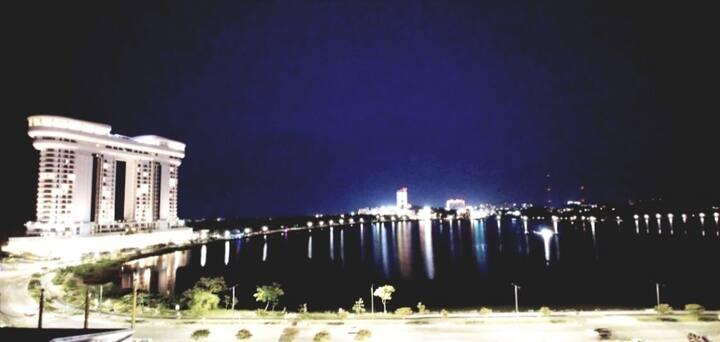 🍀오션뷰&일출  하이오션경포호텔6층🍀 경포호수+바다도보2분 셀프체크인