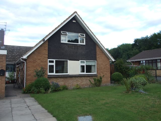 detached dorma style house - Corby