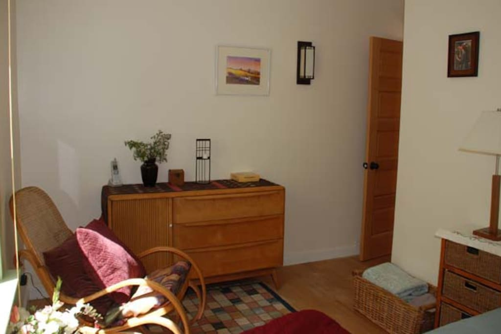 Front Bedroom, Haywood Wakefield sideboard