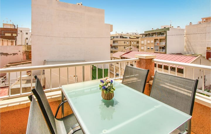 Stunning home in Torrevieja with WiFi and 2 Bedrooms