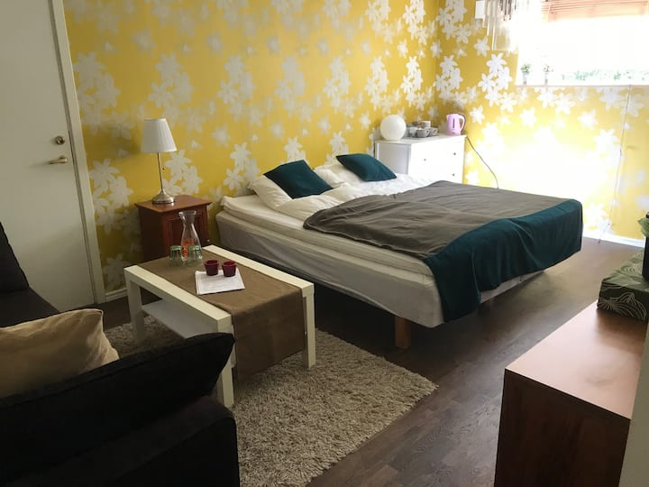 Comfortble big room, 5 min walk to Liseberg