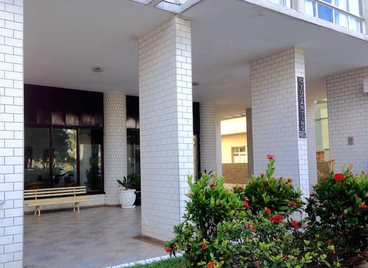 Aconchegante apartamento à beira-mar, em Itararé