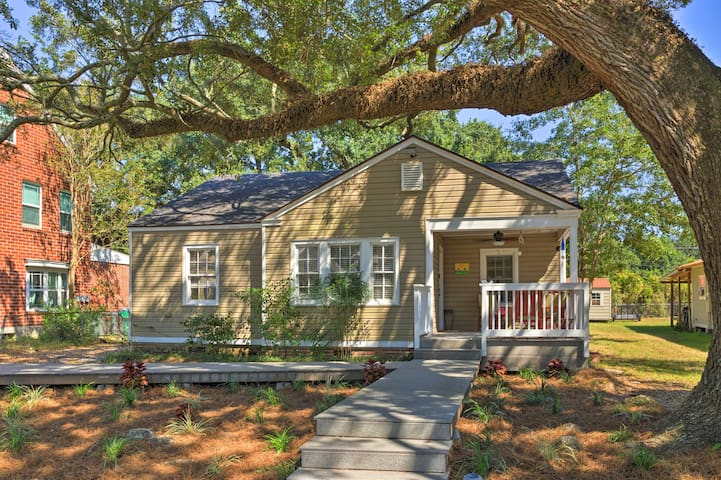 NEW! Gulfport Home w/ Deck & Grill - Walk to Beach