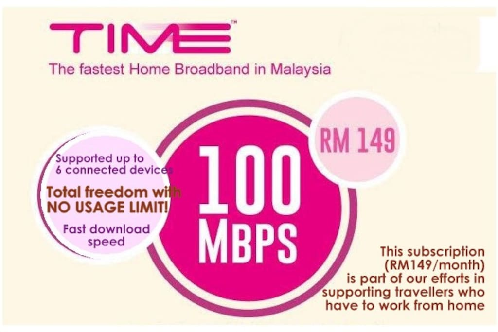 [100mbps unlimited highspeed fibre home broadband] Now up and running smooth in house!
