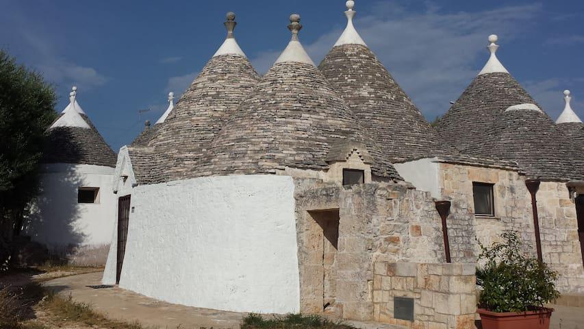Trulli Manuela - Locorotondo - Haus