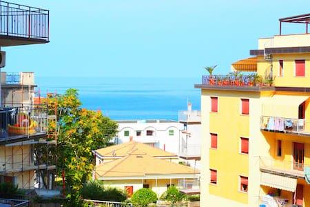 Casa Tirreno - Vista sull'oceano e 350 m dal mare