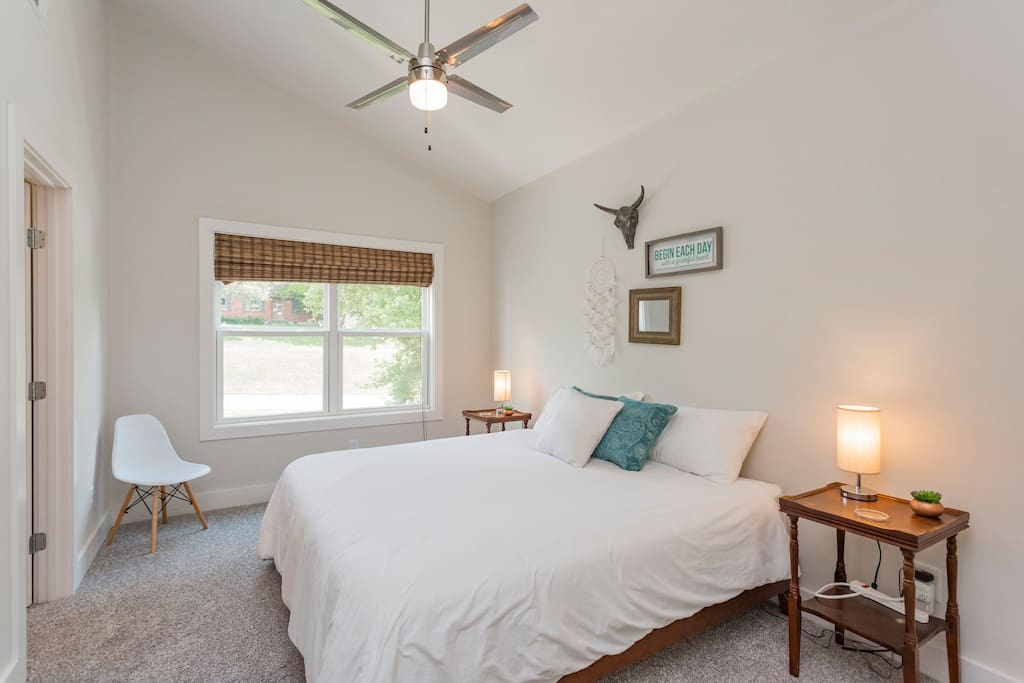 Bedroom 1 - Relax in the majestic king bed with access to a Jack and Jill bathroom and large closet!