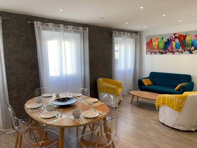 Duplex 3 chambres au coeur de Cannes