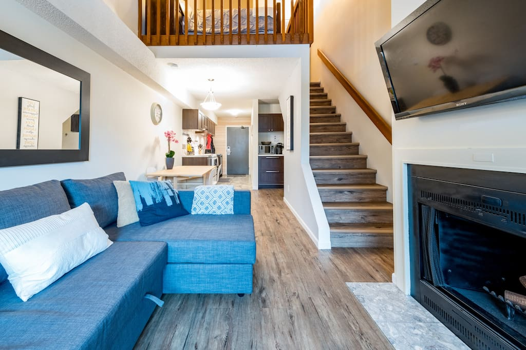 Cozy Apartment in Creekside - walk to the lifts - Lofts ...