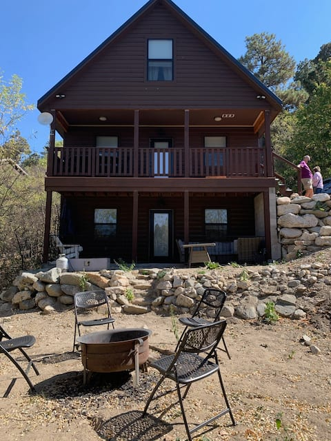 Relax! It's Cabin Time. Entire cabin - sleeps 8.