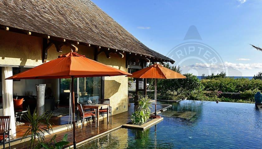 Belau luxury sea-view villa with private pool