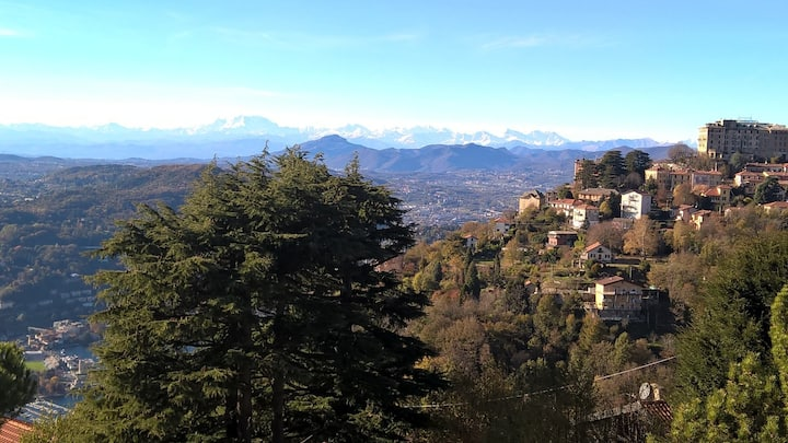 Brunate scenic balcony above Como