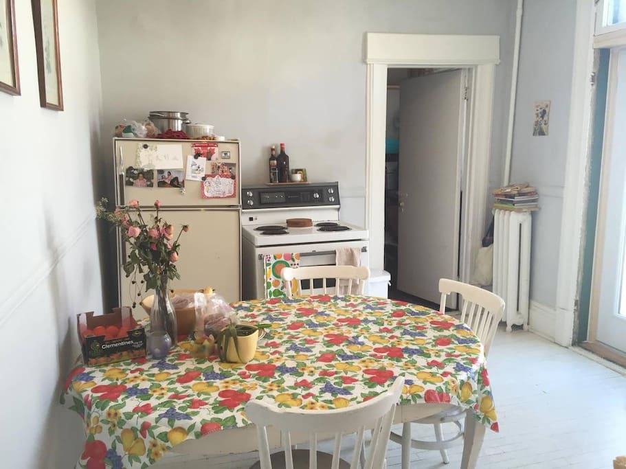 kitchen! with laundry room in the back