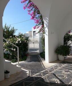Elegant house in Pyrgos, Santorini - Pyrgos Kallistis - Casa
