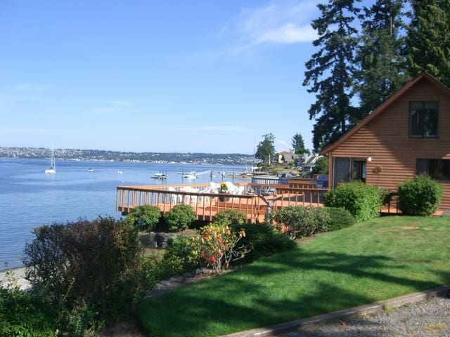 the Beach House on Fox Island (WA) - Fox Island - Chatka