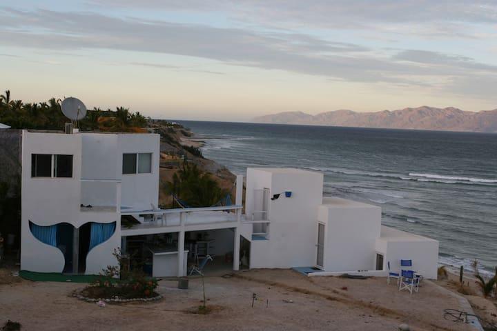 Beachfront La Ventana -El Sargento A/C summer