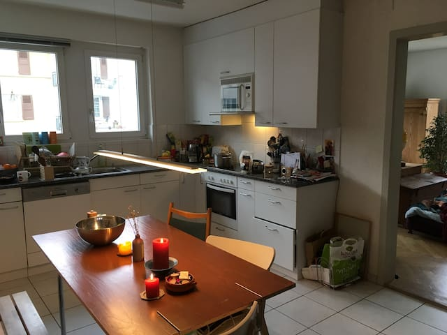 Beautiful Sunny Flat in University Neighborhood - Bern - Apartment