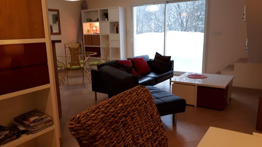 Magnifique duplex de 90 m2, Bellefontaine (39).