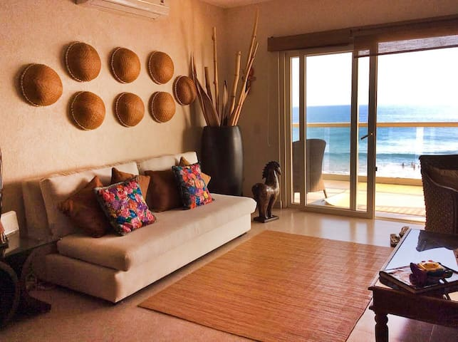 Beautiful Beach Front Punta de Mita, Available! - Punta de Mita - Apartamento