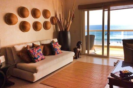 Beautiful Beach Front Punta de Mita, Available! - Punta de Mita - Daire
