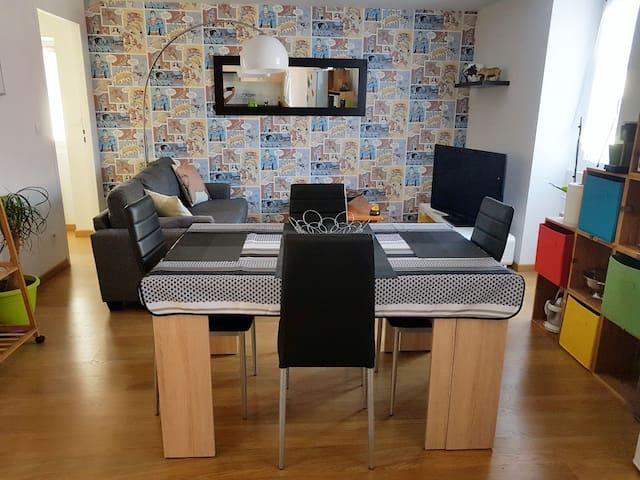 AppartementT3 entièrement rénové 45m2  (4pers)