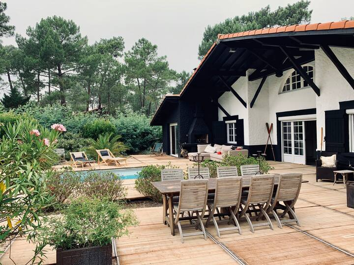 Cap Ferret - Villa avec piscine proche bassin
