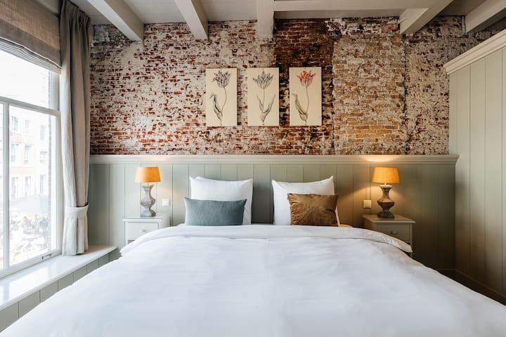 Prachtige superior room in het hartje van Utrecht