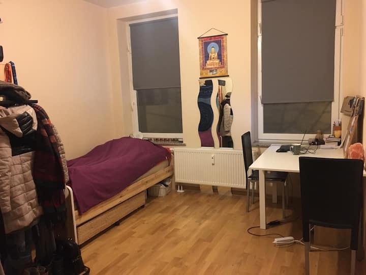 Zentrale 1-Zimmer-Whg WIFI Küche Bad