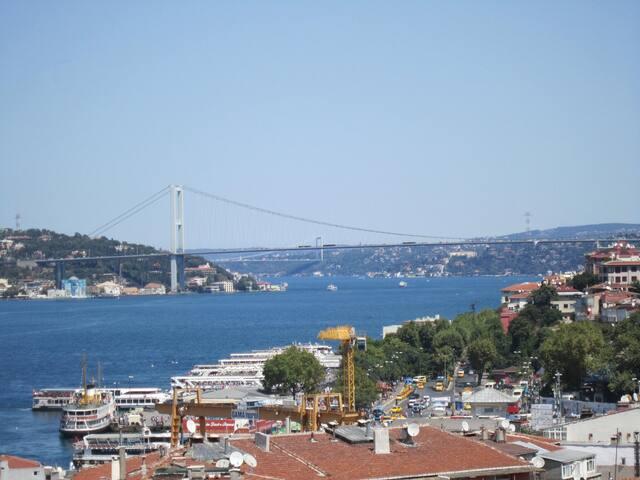 Wunderschöner Bosporus Ausblick !!!