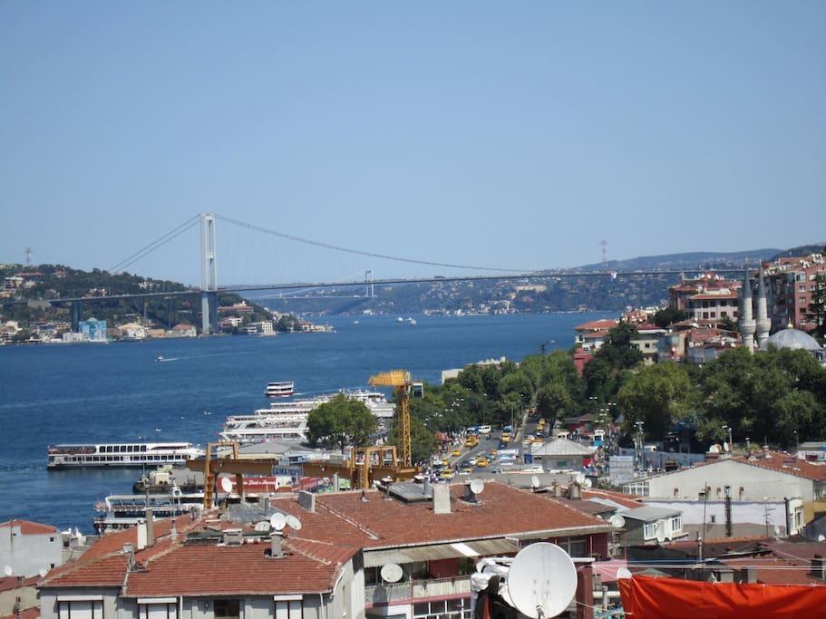 Wunderschöner Bosporus Ausblick