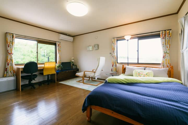 Spacious room in quiet and peaceful place :Room 2