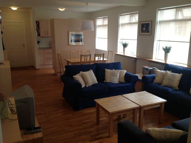 Exclusive Reykjavik center location