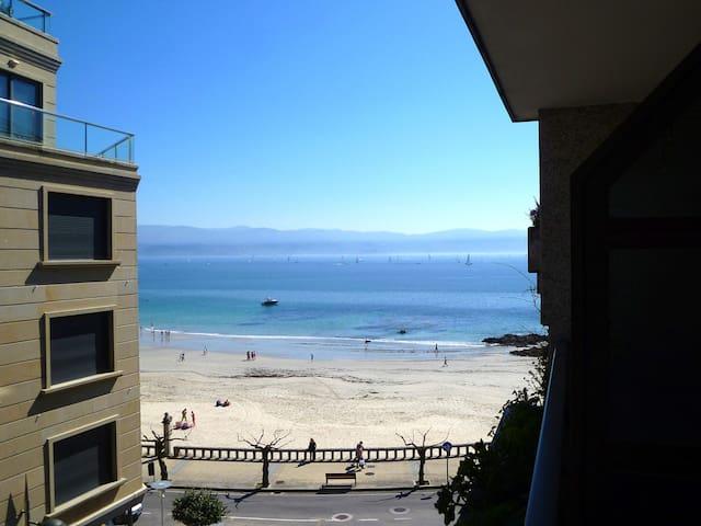 Apartamento en Sanxenxo, junto a la playa - Sanxenxo - Byt