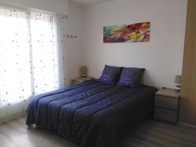 Studio 3*, garage, Thermes à 50M, Proche ville - Aix-les-Bains - Appartement