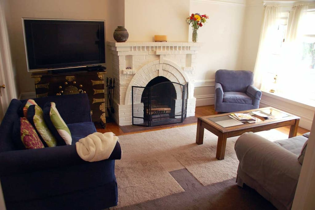 Curl up with a book amid classic San Francisco surroundings, or grab a movie from the nationally renowned Le Video down the street.
