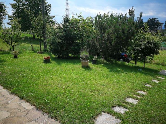 Casa con giardino a Prada di Brenzone del Garda