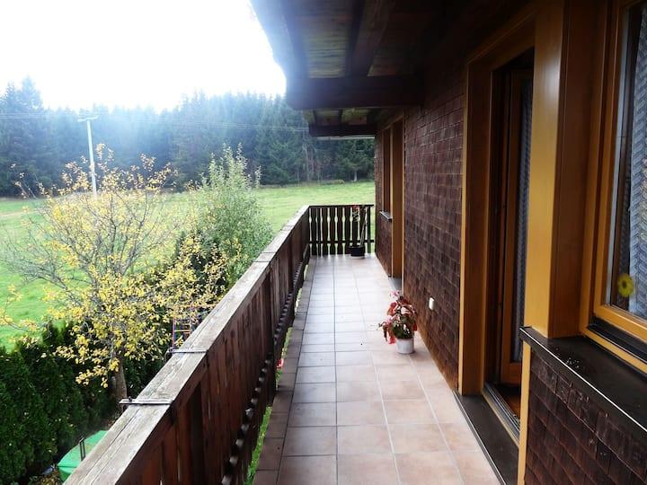 Ferienwohnung Wernet, (Schönwald), Ferienwohnung, 80 qm, 2 Schlafzimmer, max. 4 Personen
