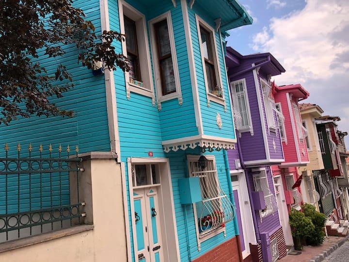 Colorful houses of Balat