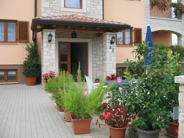 Studio Ana mit privatem Pool Nähe Porec - Dračevac - Apartment