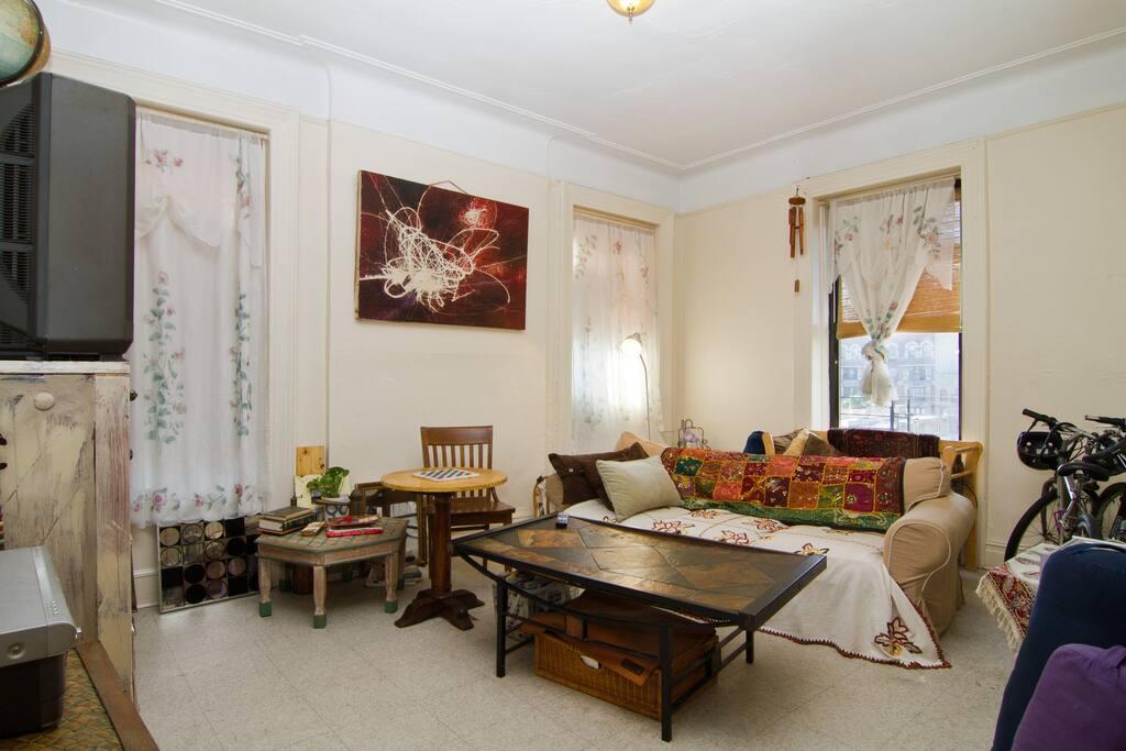 Bright comfy apt near central park apartamentos en alquiler en nueva york nueva york - Alquiler apartamentos nueva york ...