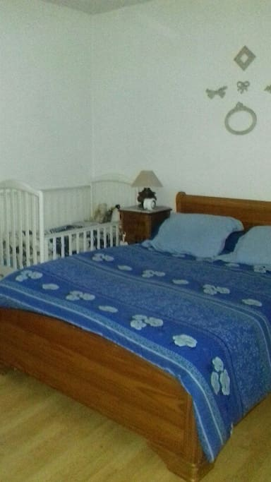 2e chambre + lit BB