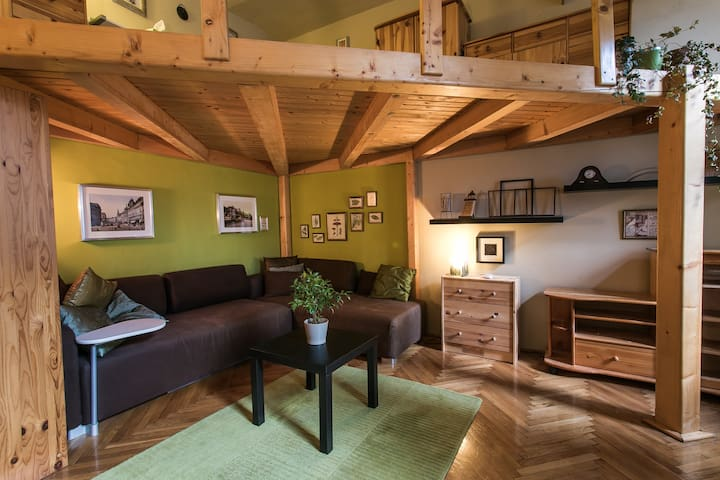 Cozy and quiet home in the center!