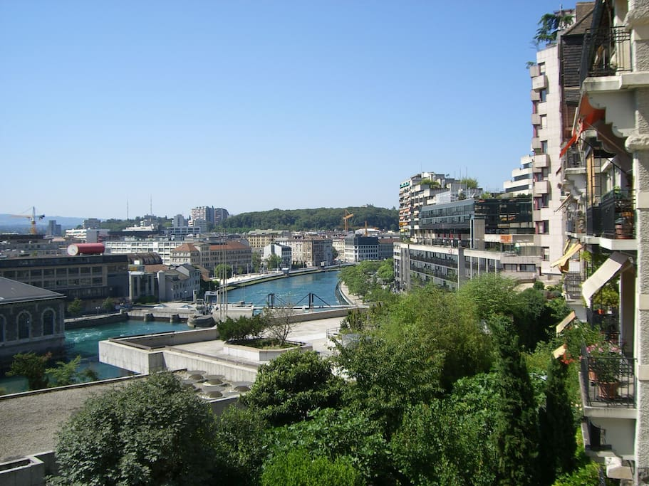 amazing view in the heart of Geneva - Apartments for Rent