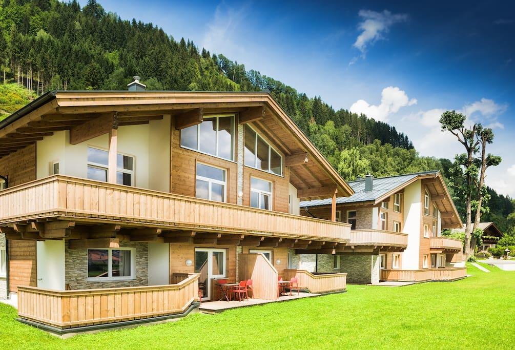 Beispielfoto für Wohnbereich eines Appartement