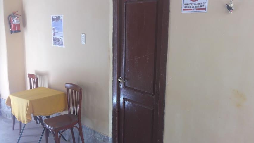Dormitorio en Iruya