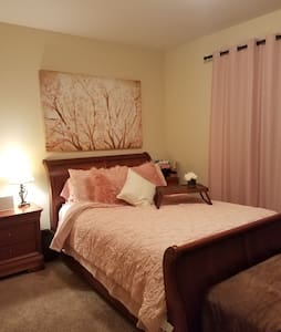 Blooming Blush Guest Room