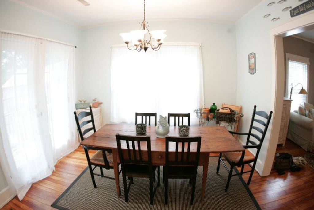 Dining Room - opens to backyard