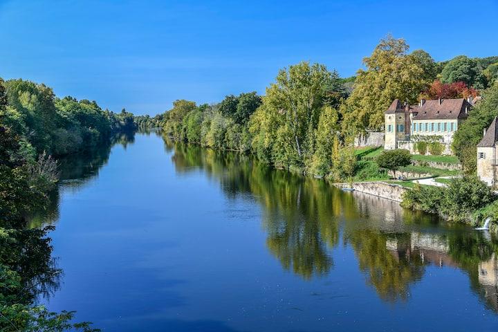Magnifique B&B sur la Dordogne
