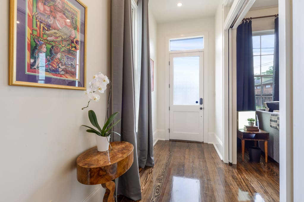 Walk through the front door and enter our immaculately clean luxury home.